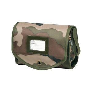 TROUSSE MURALE de TOILETTE OPEX  en tissu militaire bariolée Camouflage
