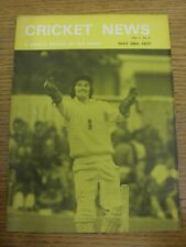 28/05/1977 Cricket News: Vol.01 No.05 - A Weekly Review Of The Game, Cover Image