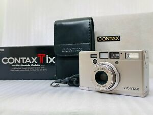 [MINT in BOX] Contax Tix Carl Zeiss Sonnar T 28mm F2.8 APS Camera From JAPAN