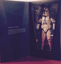 """Star Wars 501st Clone Trooper Real Action Heroes (RAH) Sideshow 12"""" Figure"""
