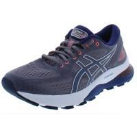 Asics Womens Gel-Nimbus 21 Gray Running Shoes Sneakers 10 Medium (B,M) BHFO 8302
