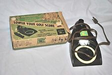 Vintage Electromatic Brandell Putting Practice 19th hole Model 1901 w/ box