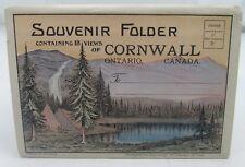 ONTARIO CORNWALL CANADA VINTAGE POSTCARD-SIZED VIEWS BOOKLET c.1930s/1940s*