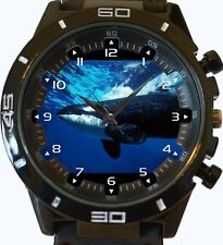 Big Orca Whale Underwater New Gt Series Sports Unisex Watch