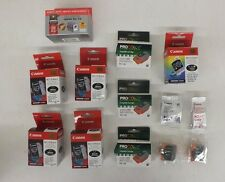 13 Canon Original OEM BCI-10 Black Ink  4 BCI-11 Color & 8 Generics BJC 50 70 80