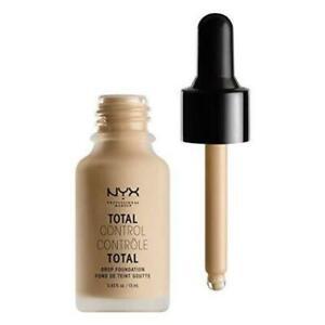 NYX Total Control Drop Foundation Nude BNIB