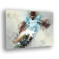 Sergio Aguero 'Legend' Manchester City Framed Canvas Print
