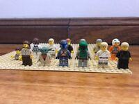 Lego Star Wars minifigure lot - Jango Fett - Boba Fett (75015 6209 7144 6208)