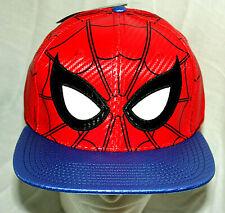 Marvel Comics Spider-Man Far From Home Carbon Like Baseball Cap Hat New 2019