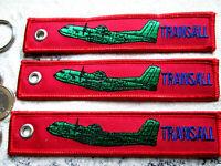 C - 160 Transall REMOVE BEFORE FLIGHT 3er SET Keychain /Avion / Aircraft YakAir