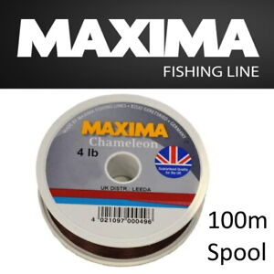 Maxima Chameleon Fishing Line 100M Spools - Hi-Tensile Monofilament Coarse Match