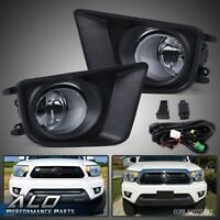 For 12-15 Toyota Tacoma Front Bumper Driving Lamps Fog Lights w/ Switch Bulbs