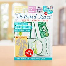 Tattered lace magazine, with free snow drop die + papers,  great value