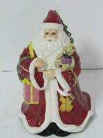 Spode Santa Claus Christmas Holiday Cookie Jar Excellent condition