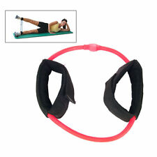 Ankle Cuff Resistance Tube, Medium Resistance 8.5 lbs - 10 lbs, Red