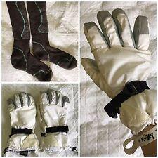 Women's Roxy Ski Snow Gloves Size Large Plus BONUS Smartwool Socks