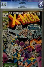 X-MEN  #68 CGC 8.5- HIGRADE MARVEL 1971-SENTINELS ISSUE