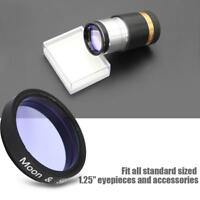 Datyson 1.25inch Ultra Sky Glow & Moon Filter Cut Light Pollution for Eyepiece
