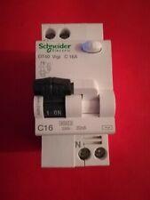 disjoncteur différentiel DT40 VIGI C 16A  30 mA  schneider électric ref a9n21444