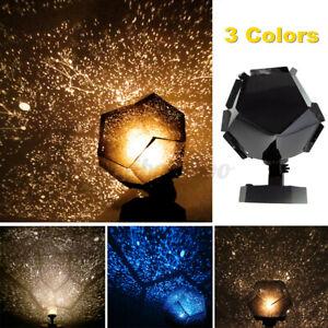 LED Sternenhimmel Einschlafhilfe Nachtlicht Projektor Lampe Nachtlampe .