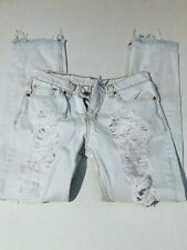 Levi's 511 Style Distressed Male Jeans In Size W29/L30