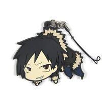 DRRR!! Durarara!! Orihara Izaya Anime Rubber Keychain KeyRing Phone Strap Charm