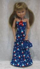 Made to fit HOPSCOTCH HILL & Teen Trends #37 Handmade Dress, Purse & Necklace