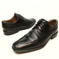 ✅❤️✅@ ECCO Cairo Apron Moc Toe Brown Leather Dress Shoes Oxford Men's Eu45 11.5