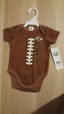 Gerber NFL Baltimore Ravens Baby Football Style Bodysuit Onesie Brown 0-3 months
