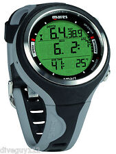 Mares Smart Dive Computer Scuba Diving Watch Black/Grey