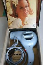 Pifco Princess Vintage Blue hairdryer in original box - working