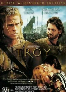 Troy DVD - Widescreen Edition (2 DISC) SAME NEXT / SAME DAY POST - FAST