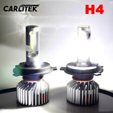 H4 LED120W 32000LM 6000K Headlight Bulbs EMC No FM Radio Error Hi-Lo Beam Lights