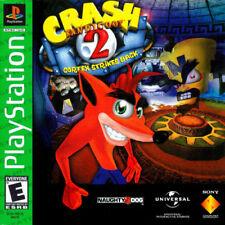 Crash Bandicoot 2: Cortex Strikes Back Sony PlayStation 1 Ps1 Complete VeryGood