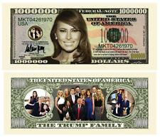 Trump Collectible First Lady Melania and Family Dollar Bill Money Pack of 100