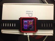 Apple Ipod Nano 6th Generation 8GB Certified Refurbished Box Pink With Bracelet