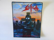 SODOM PERSECUTION MANIA SUBLIMATED BACK PATCH