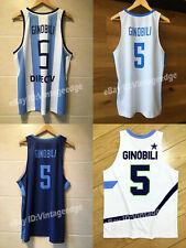 Manu Ginóbili #5 Team Argentina Basketball Jerseys Custom Names S-3XL
