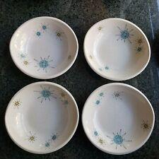 "VTG Franciscan Starburst atomic stars 1950s 7"" cereal bowl MINT"