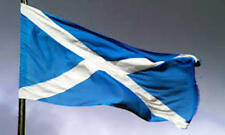 More details for large scotland rampant lion , sky & navy blue rugby saltire flags