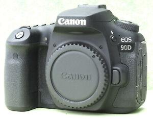 Canon EOS 90D 32.5MP DSLR-Kamera - Schwarz (Nur Gehäuse) * Garantie