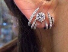Ear cuffs Ear wraps Huggies Hoop Front Back Studs Double sided earrings Crawlers
