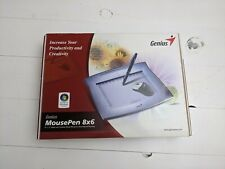 "Genius MousePen 8""x 6"" Graphic Tablet for Home & Office (Please Read, Free Ship)"