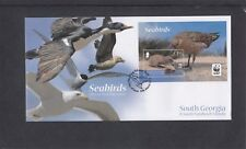South Georgia 2012 WWF Sea Birds MS Skua First Day Cover FDC King Edward Point