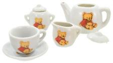 KANDYTOYS 13PC PORCELAIN TEDDY BEAR MINI TEA SET - TY1426 CUPS PLATE MILK JUG