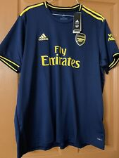 NWT 2xl Men's Adidas Fly Emirates Soccer Jersey navy/yellow