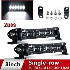 "8inch 60W LED Work Light Bar Flood Spot Beam Offroad 4WD SUV Driving Fog Lamp 7"""