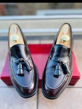 Church' s Royal Tweed mens dress loafers 9 D slip on executive tassel Alden