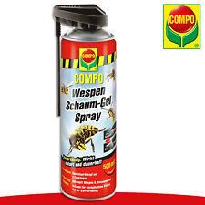 COMPO 500 ml Wespen Schaum-Gel Spray | Spezialsprühkopf Bekämpfung Haus Nester