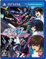 USED PSVITA Mobile Suit Gundam SEED BATTLE DESTINY